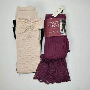 Simply Noelle Boot Socks